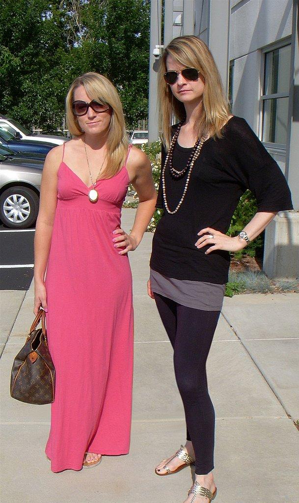 Anna and Maureen